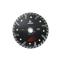 NTP 150 DRY DIAMOND CUTTING BLADE FOR ANGLE GRINDERS - CUTTING GRANITE ENGINEERED STONE