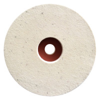 7 INCH REINFORCED FELT TO POLISH MARBLE, GRANITE AND NATURAL STONE