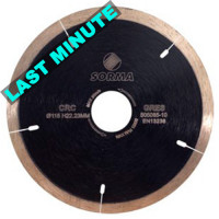 CRC 115 DRY DIAMOND CUTTING BLADE FOR ANGLE GRINDERS - PRECISE CUTTING GRANITE MARBLE PORCELAIN