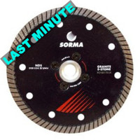 DS NEW 125 DRY DIAMOND CUTTING BLADE FOR ANGLE GRINDERS - CUTTING GRANITE ENGINEERED STONE - BEST CUTTING SPEED ON GRANITE
