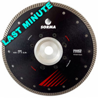 DS NEW 230 DRY DIAMOND CUTTING BLADE FOR ANGLE GRINDERS - CUTTING GRANITE ENGINEERED STONE - BEST CUTTING SPEED ON GRANITE