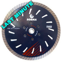 AH 230 DRY DIAMOND CUTTING BLADE FOR ANGLE GRINDERS - CUTTING GRANITE ENGINEERED STONE - LONG LIFE - CUTTING SPEED