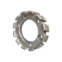 STUBBING WHEEL D602 ELECTROPLATED