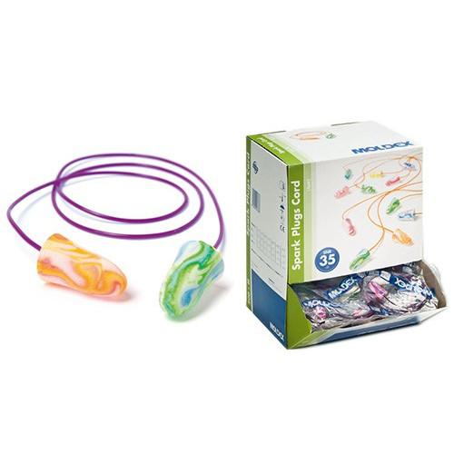200 MOLDEX SPARK-PLUGS® CORD EAR PLUGS 7801