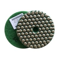DRY POLISHING PAD FASTLINE SD2 100 H14 QRS GREEN