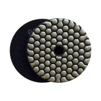 DRY DIAMOND RESIN POLISHING PAD FASTLINE SD2 100 H14 QRS BLACK