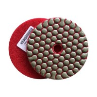 DRY DIAMOND RESIN POLISHING PAD FASTLINE SD2 100 H14 QRS RED