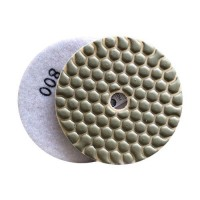 DRY DIAMOND RESIN POLISHING PAD FASTLINE SD2 100 H14 QRS WHITE