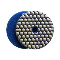 DRY DIAMOND RESIN POLISHING PAD FASTLINE SD2 100 H14 QRS BLUE