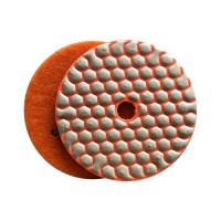 DRY DIAMOND RESIN POLISHING PAD FASTLINE SD2 100 H14 QRS ORANGE