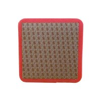 DIAMOND HAND POLISHING PAD MOONFLEX® 75X75 RED GRIT 200M