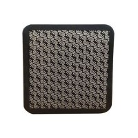 DIAMOND HAND POLISHING PAD MOONFLEX® 75X75 BLACK GRIT 120M