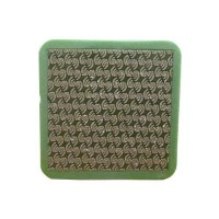 DIAMOND HAND POLISHING PAD MOONFLEX® 75X75 GREEN GRIT 60M