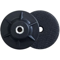 NATURAL RUBBER VELCRO® BACK UP PAD 100