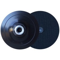 RIGID PLASTIC MADE WITH CENTER PIN VELCRO® BACK UP PAD