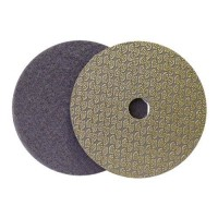 DRY DIAMOND POLISHING PAD DRYFACE® MOON 100 H16 QRS GREY