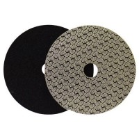 DRY DIAMOND POLISHING PAD DRYFACE® MOON 100 H16 QRS BLACK