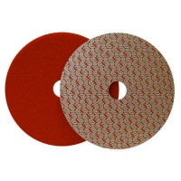 DRY DIAMOND POLISHING PAD DRYFACE® MOON 100 H16 QRS RED