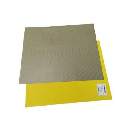 Foglio tela diamantata abrasiva diaface 230x280 giallo for Foglio metallico