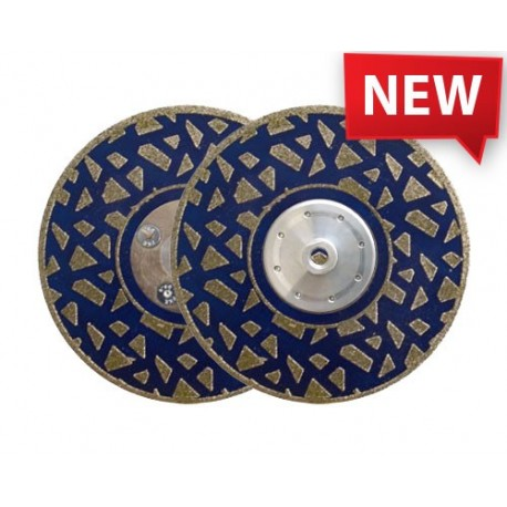 NEW EDLXX 125 DIAMOND CUTTING AND GRINDING BLADE FOR MARBLE ENGINEERED STONE CALCAREOUS STONE - BOTH SIDES COATING