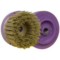 ABRASIVE DISC BRUSH DIAMOND MAFLEX DM.107 DA DIA 36 - VERY HIGH STOCK REMOVAL GRANITE - ENGINEERED STONE - MARBLE