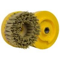 ABRASIVE DISC BRUSH DIAMOND MAFLEX DM.107 DA DIA 240 - VERY HIGH STOCK REMOVAL GRANITE - ENGINEERED STONE - MARBLE