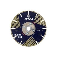 "5"" INCH SORMA SEDLS ELECTROPLATED SEGMENTED BLADE WITH SIDE COATINGS"