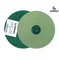 DRY POLISHING PAD EPR 100 H25 QRS GREEN GRIT 60 M