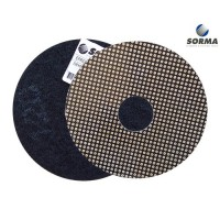 DRY POLISHING PAD EPR 100 H25 QRS BLACK GRIT 120 M