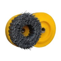 ABRASIVE DISC BRUSH MAFLEX DA-RESIN Ø107 GRIT 240 FOR ANGLE GRINDERS - ANTIQUING MARBLE - TERRAZZO - SANDSTONE