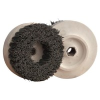 ABRASIVE DISC BRUSH MAFLEX DA-RESIN Ø107 GRIT 320 FOR ANGLE GRINDERS - ANTIQUING MARBLE - TERRAZZO - SANDSTONE
