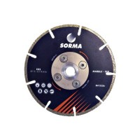 EDS 115 DIAMOND CUTTING BLADE FOR ANGLE GRINDERS - CUTTING MARBLE AND ENGINEERED STONE