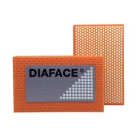 DIAMOND HAND POLISHING PAD DIAFACE® 90X55 ORANGE RESIN