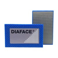 DIAMOND HAND POLISHING PAD DIAFACE® 90X55 BLUE METAL