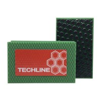 DIAMOND HAND POLISHING PAD TECHLINE 90X55 GREEN
