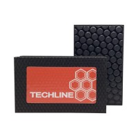 DIAMOND HAND POLISHING PAD TECHLINE 90X55 BLACK