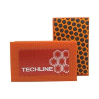 DIAMOND HAND POLISHING PAD TECHLINE 90X55 ORANGE