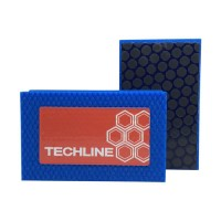 DIAMOND HAND POLISHING PAD TECHLINE 90X55 BLUE GRIT 1000R