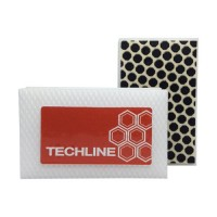 DIAMOND HAND POLISHING PAD TECHLINE 90X55 WHITE