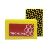 DIAMOND HAND POLISHING PAD TECHLINE 90X55 YELLOW