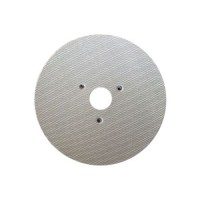 WET POLISHING PAD VELCRO® DISC DIAFACE® 100 H16 + 3F QRS WHITE FOR MARBLE - GRANITE - CERAMIC - GLASS - ENGINEERED STONE