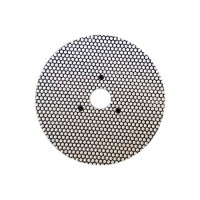 WET POLISHING PAD VELCRO® DISC DIAFACE® 100 H16 + 3F QRS BLUE FOR MARBLE - GRANITE - CERAMIC - GLASS - ENGINEERED STONE