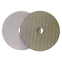 DRY DIAMOND POLISHING PAD DRYFACE® MOON 100 H16 QRS WHITE