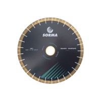 SORMA HG1 SEGMENTED SILENT SAW BLADE NARROW SLOT FOR QUARTZITE