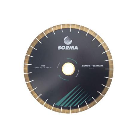 SORMA HG1 SEGMENTED SILENT SAW BLADE NARROW SLOT FOR QUARTZITE