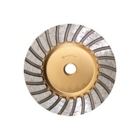 SINTERED DOUBLE TURBO CUP WHEEL TGH 100 M14
