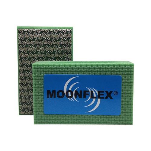 TAMPONE DIAMANTATO MOONFLEX® 90X55 VERDE