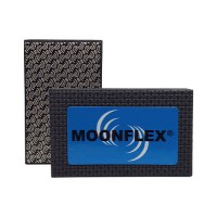 DIAMOND HAND POLISHING PAD MOONFLEX® 90X55 BLACK METAL