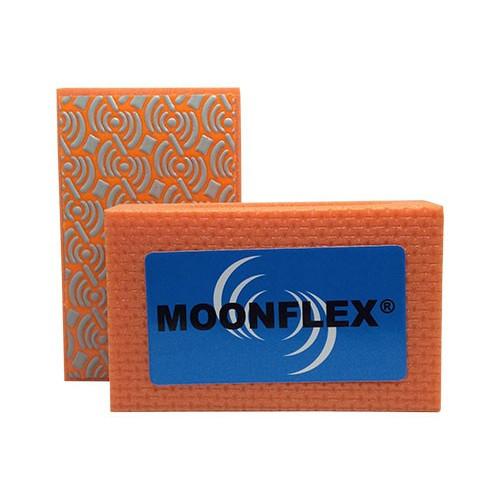 TAMPONE DIAMANTATO MOONFLEX® 90X55 ARANCIO