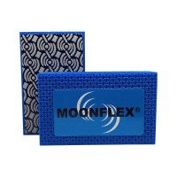 DIAMOND HAND POLISHING PAD MOONFLEX® 90X55 BLUE RESIN